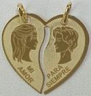 joyas compartidas enamorados