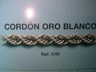 cadena oro joyeria madrid
