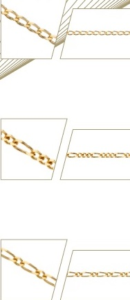 cadenas finas oro plata