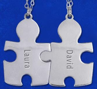 colgantes puzzle compartidos